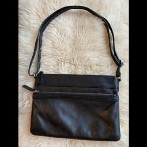 Genuine Leather Margot can be body or shoulder bag